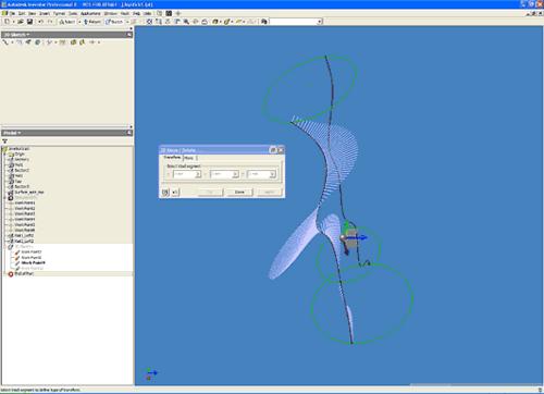 Трехмерный сплайн позволяет теперь создавать любые формы - в том числе объекты, имитирующие детали с произвольным размещением (резиновые шланги, ремни, кабели и т.п.), а также сложные поверхности