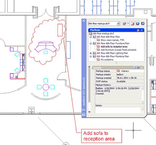 Просмотр и устранение замечаний, созданных с помощью Autodesk DWF Composer - вот в чем состоит предназначение Менеджера замечаний