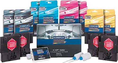 Использование совместимых чернил STAEDTLER для широкоформатных принтеров НР существенно уменьшает себестоимость печати
