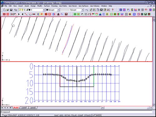 Рис. 3. Модуль для формирования и просмотра эхограмм