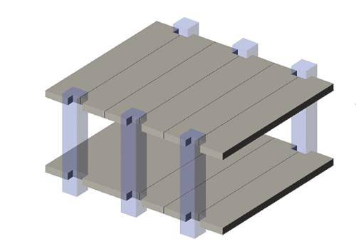 Рис. 9. Пример обобщенной компоновочной модели