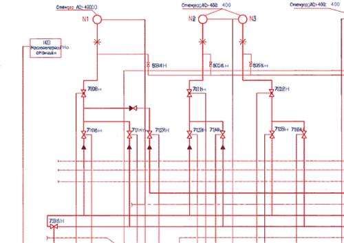 Пример автоматической векторизации. Черным цветом показано растровое изображение
