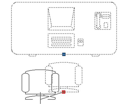 Рис. 2. Перемещение частей блока посредством активного параметра (перемещение частей блока рабочего места без разбиения составного блока)