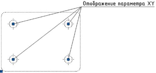 Рис. 9. Отображение параметра типа XY