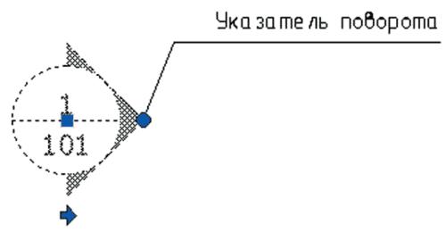 Рис. 11. Отображение параметра типа Rotation