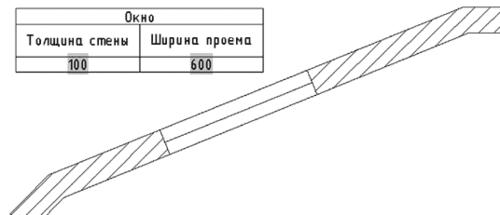 Рис. 23. Изменение параметров блока (ширины окна) приводит к изменению значения текстового поля