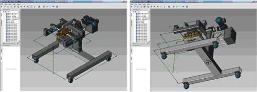 Рис. 41. DWF Composer с открытым для просмотра 3D DWF-файлом