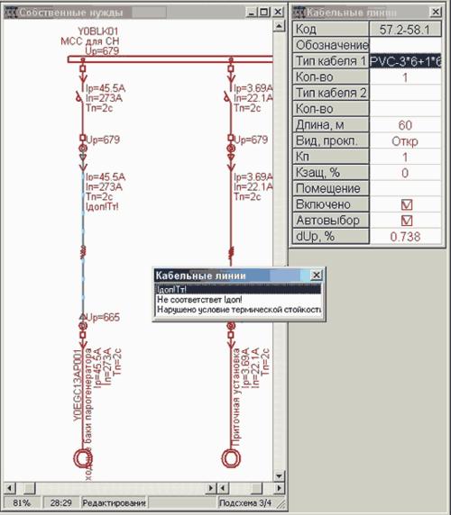 Рис. 7. Часть схемы сборкиY0BLK01 насосной станции