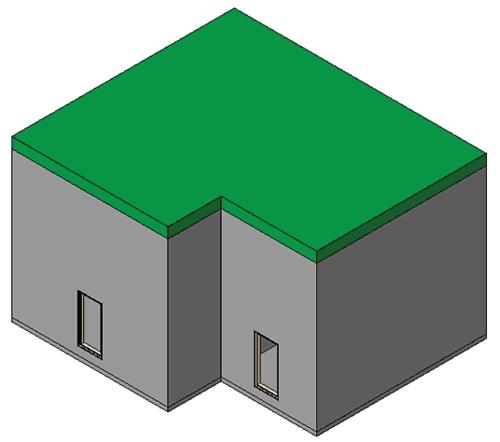 Рис. 12. 3D-вид изменился в соответствии с изменениями рисунка 11