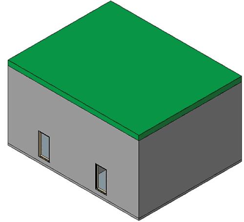 Рис. 18. Корректный контур крыши после редактирования