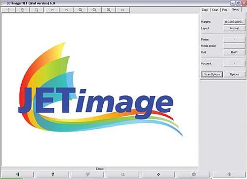 Рис. 8. Пользовательский интерфейс программы копирования JETimage