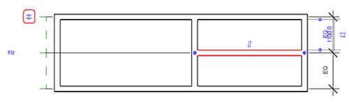 Рис. 5. Благодаря размерным зависимостям можно зафиксировать пропорции комнаты и одновременно изменять их габариты