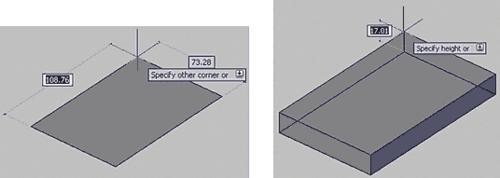 Рис. 5. Построение параллелепипеда