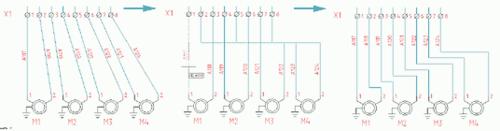 Новый инструмент редактирования графики линий связи позволяет удобно разбить участки линий связи на горизонтальные и вертикальные сегменты
