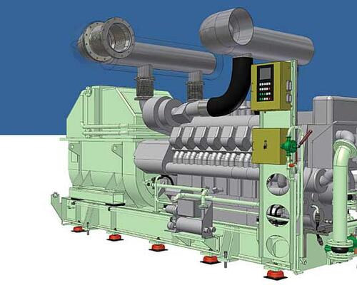 Рис. 2.2. Дизель-генератор MTU 16V4000