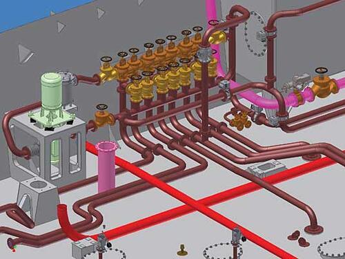 Рис. 3.2. Элементы топливоперекачивающей системы