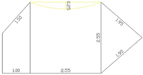 Рис. 2. Требуемый контур