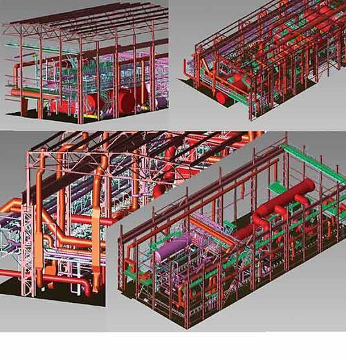 Специальная номинация: «За простое решение сложной задачи» Исполнитель: Малиновский Д.В. («НАВГЕОКОМ») Проект: «Модель промышленного производства, созданная по результатам исполнительной съемки, выполненной методом лазерного сканирования» Выполнен в программе: Autodesk Inventor Series, Autodesk Civil 3D, AutoCAD