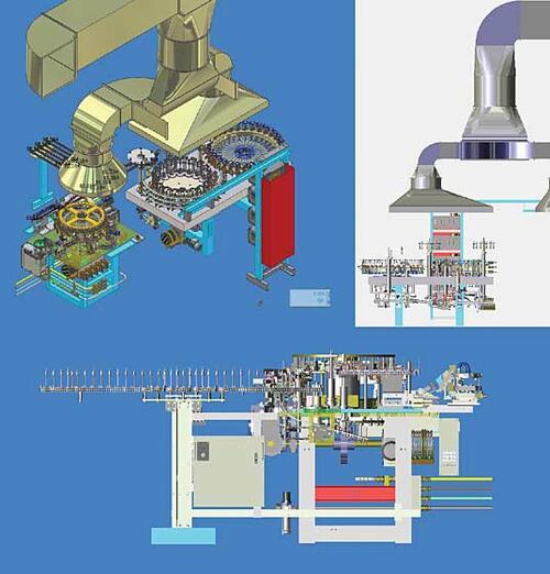 Специальный приз: «За самый детально проработанный и масштабный проект» Исполнитель: Золотницкий Н.В.(«Брестский электроламповый завод») Проект: «Модернизация сборочной линии ламп» Выполнен в программе: Autodesk Inventor Series
