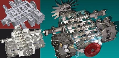 1-е место (Машиностроение) Исполнитель: Заец В.В. (СНТЦ «Сумский научно-технический центр») Проект: «Компрессор воздушный» Выполнен в программе: Autodesk Inventor Series