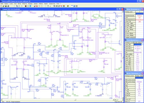 Рис. 1. Графическое окно модели проекта