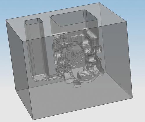 Рис. 11. Математическая модель формы, полученная