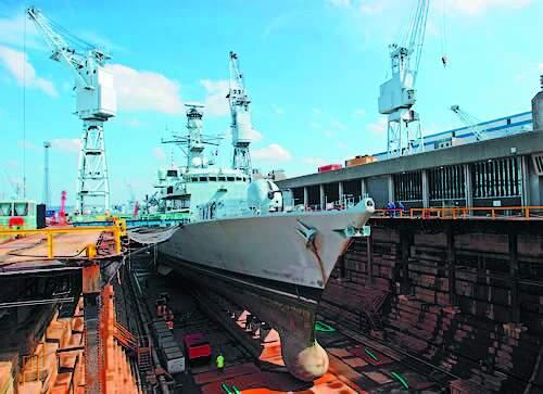 Судоремонтная компания Fleet Support Limited (FSL). Ремонт судов Королевского ВМФ