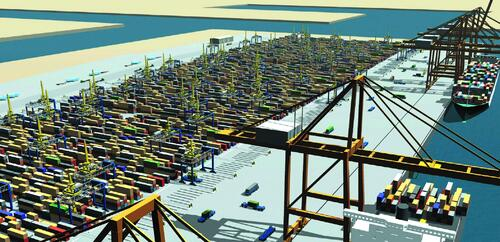 Портовое хозяйство компании Gottwald Port Technology GmbH