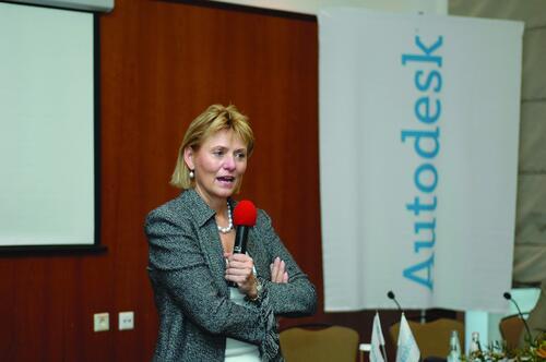Пресс-конференция г-жы Кэрол Барц