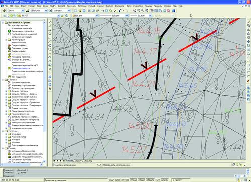 GeoniCS 2005. Проект ривьера. Вертикалка.dwg