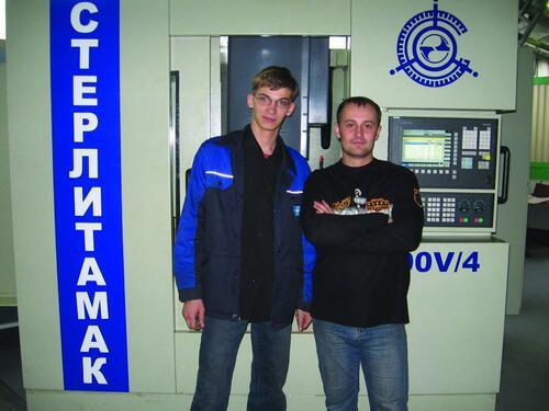 Николай Столяр (на фото - справа) и Андрей Савич