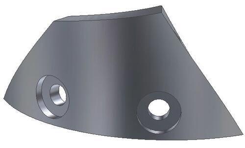 Трехмерные модели деталей, построенные в Autodesk Inventor 10. Сектор 2