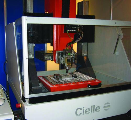 Фрезерный станок с ЧПУ Cielle Beta 40x35