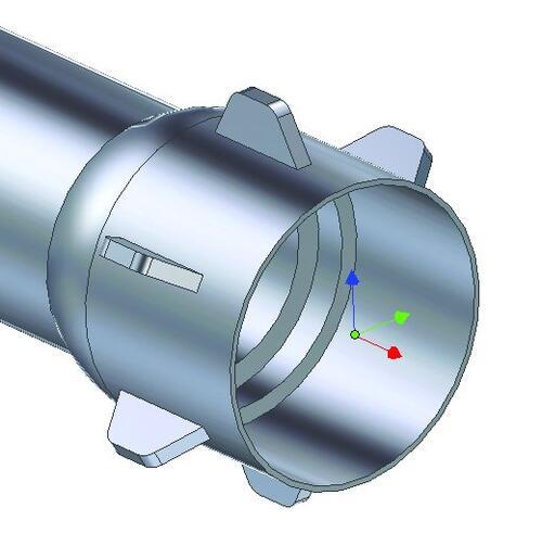 Трехмерная модель заготовки, построенная в Autodesk Inventor 11