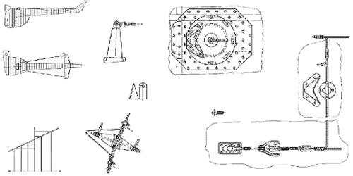Рис. 4. Сканированный чертеж, послуживший основой для создания гибридного чертежа