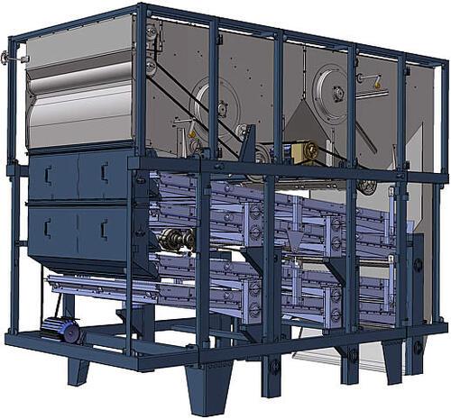 Рис. 5. Универсальный сепаратор вороха УСВ-60 (общий вид)