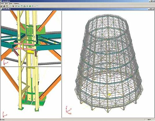 Проект и его воплощение: башенная градирня на Пермской ТЭЦ-9