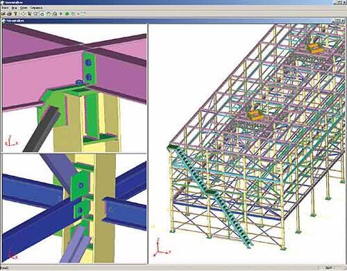 Вентиляторная градирня на Рязанском нефтеперерабатывающем заводе