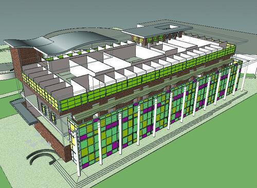 Архитектурное бюро Barnes Gromatzky Kosarek Architects, университетский комплекс Остин (Техас, США)
