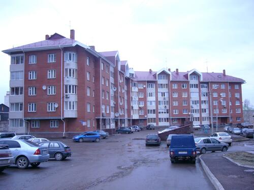 Рис. 1.1. Жилой пятиэтажный дом в микрорайоне Т-Северный (Уфа)