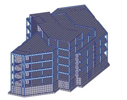 Рис. 2.2. Расчетная модель
