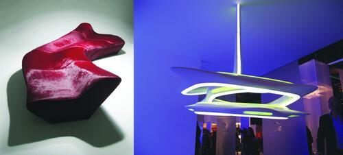Мебель и светильники Захи Хадид