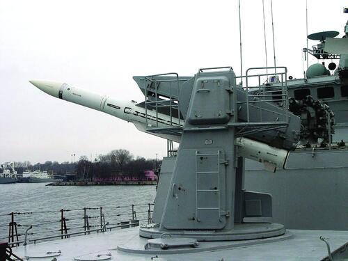 Рис. 4. Ракеты 9М317, выпускаемые в настоящее время ДНПП, в составе корабельного зенитно-ракетного комплекса «Штиль-1»