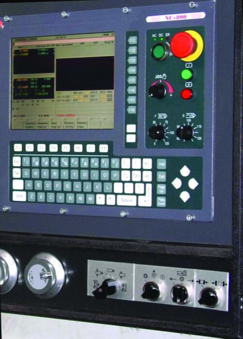 Рис. 6. Устройство числового программного управления NC200