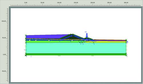 Рис. 5. Геометрическая модель проекта