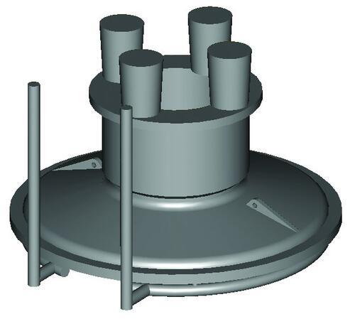 Рис. 2. Технология изготовления загрузочной крышки, применявшаяся ранее