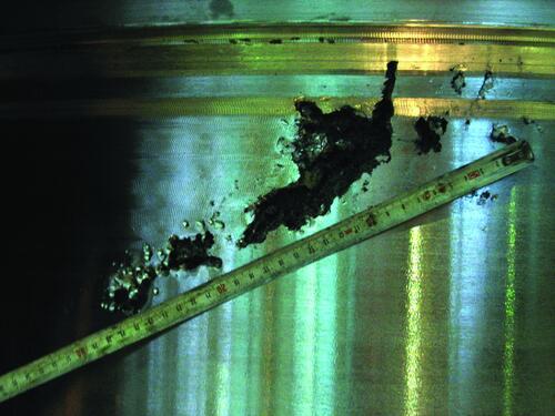 Рис. 3. Загрузочная крышка с усадочными дефектами