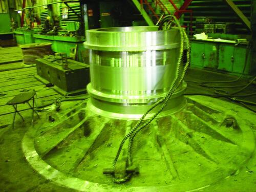 Рис. 6. Загрузочная крышка, изготовленная с применением измененной технологии