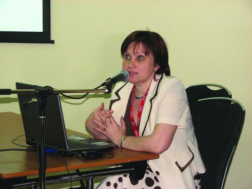 Валентина Чешева, директор отдела землеустройства, изысканий и генплана
