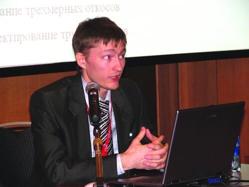 Алексей Ткаченко, ведущий специалист отдела землеустройства, изысканий и генплана